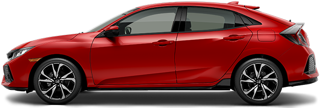 2018 Honda Civic Hatchback Sport at Elm Grove Honda