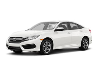 2018 Honda Civic Sedan White Orchid Pearl