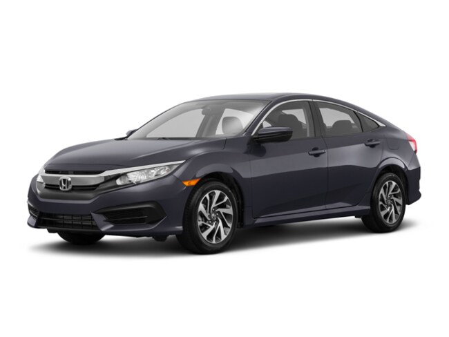 New 2018 Honda Civic EX Sedan Gardena, CA