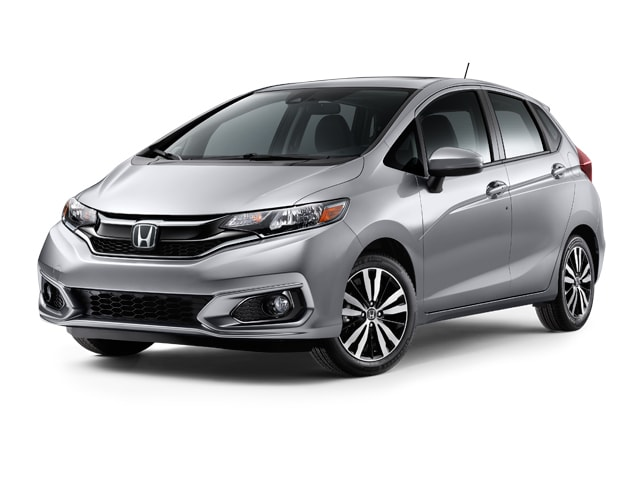 New 2018 Honda Fit Hatchback Ex Lunar Silver For Sale