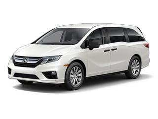 2018 Honda Odyssey Van White Diamond Pearl