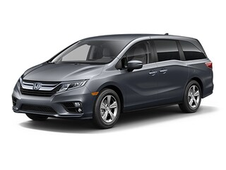 New 2018 Honda Odyssey EX Minivan/Van 5FNRL6H5XJB056810 for sale in Latham, NY at Keeler Honda