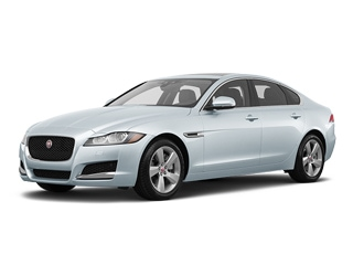 2018 Jaguar XF Sedan Yulong White Metallic