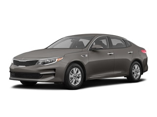 2018 Kia Optima Sedan Titanium Silver