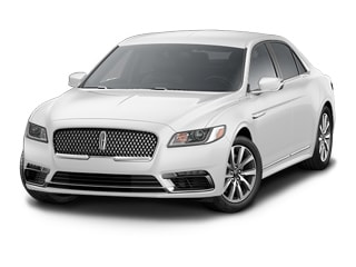 2018 Lincoln Continental Sedan White Platinum Metallic Tri