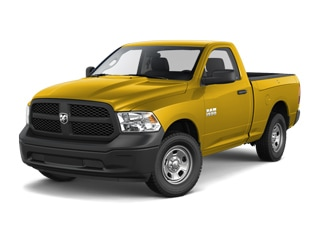 2018 Ram 1500 Truck Yellow