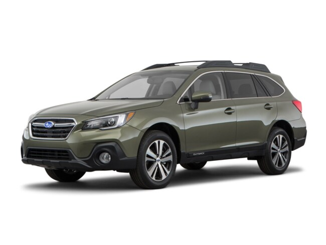 New 2018 Subaru Outback 2.5i Limited with EyeSight, Navigation, High Beam Assist, Reverse Auto Braking, LED Headlights, Steering Responsive Headlights, and Starlink SUV for sale in Ogden, UT at Young Subaru