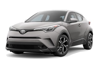 2018 Toyota C-HR SUV Silver Knockout Metallic