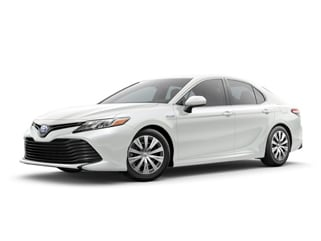 2018 Toyota Camry Hybrid Sedan Wind Chill Pearl