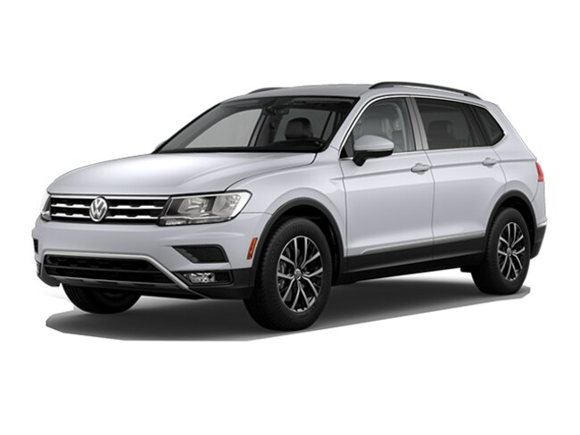 New 2018 Volkswagen Tiguan 2.0T SE 4MOTION SUV in Bloomington IN