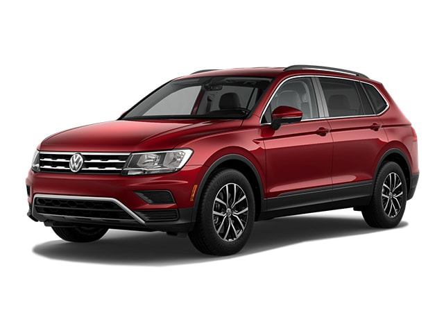 New 2019 Volkswagen Tiguan 2.0T SE 4MOTION All-wheel Drive SUV