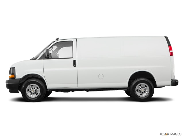 New 2017 Chevrolet Express 2500 Work Van Van Cargo Van near Boston