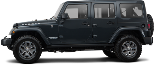 2017 Jeep Wrangler Unlimited SUV Rubicon 4x4
