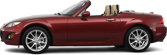 2012 Mazda MX-5 Miata Convertible Touring Hard Top (M6)