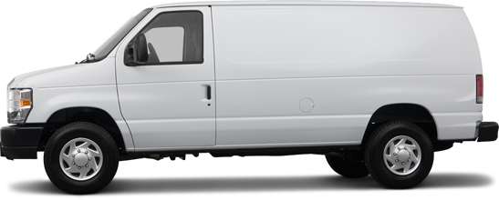 2012 Ford E-350 Super Duty Van Commercial