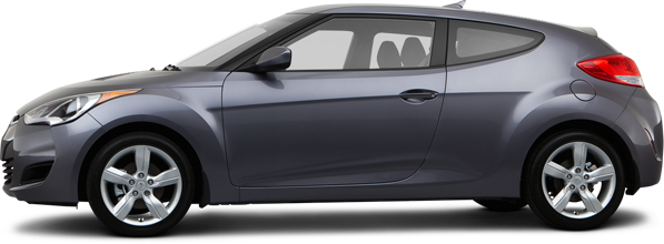 2013 Hyundai Veloster Hatchback Base w/Gray (A6)