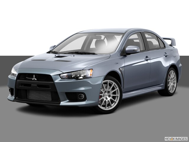2015 Mitsubishi Lancer Evolution GSR Sedan
