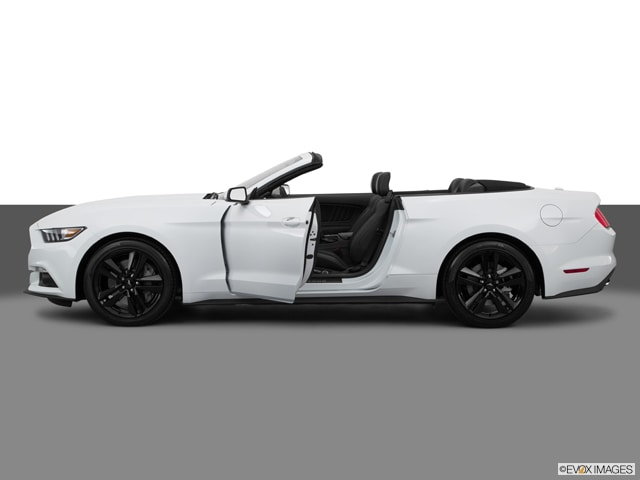 previousnext - 2015 Ford Mustang White Convertible