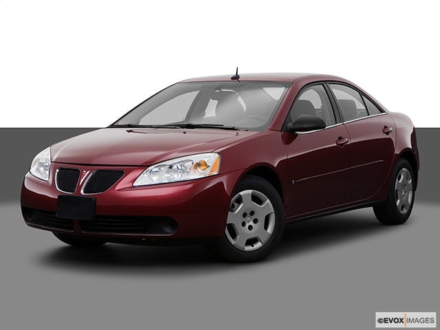 2008 Pontiac G6 Base Sedan