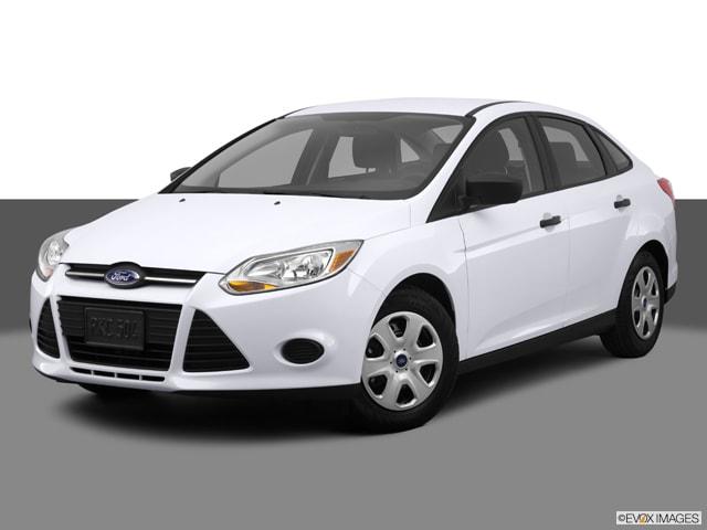 Ford Focus 2014 Hatchback White