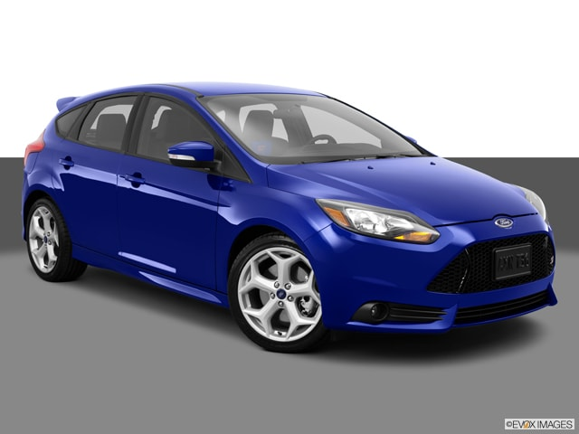 Ford Focus Hatchback 2013 Trunk