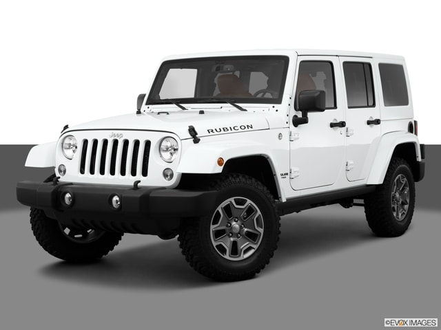 Wrangler car - Color: White  // Description: amazing big
