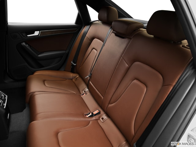 Chestnut Brown Interior Rear Seat For The 2013 Audi A4 20t