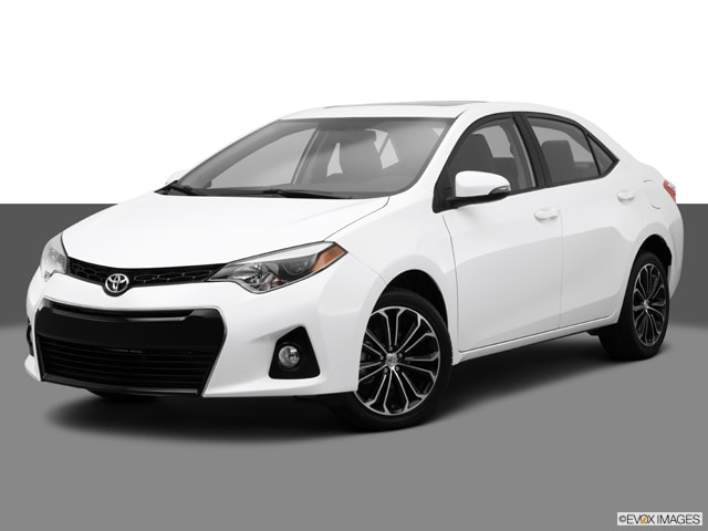 2014 Toyota Corolla S Plus Sedan