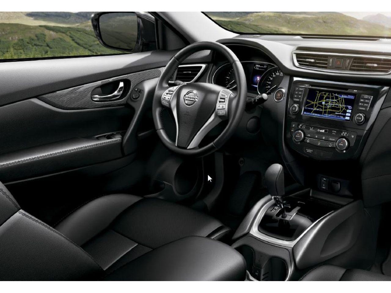 X trail 2017 interiores for Nissan x trail interior