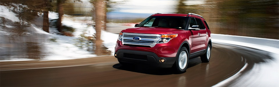 Ford Explorer Dealer near Fair Oaks CA