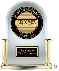 Vehicle Dependability Trophy