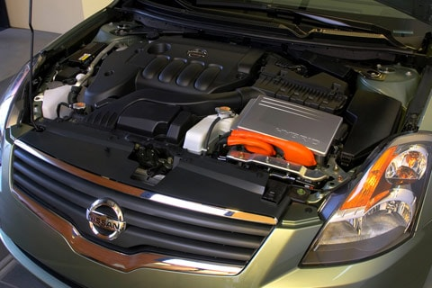 2009 Nissan Altima Hybrid Engine
