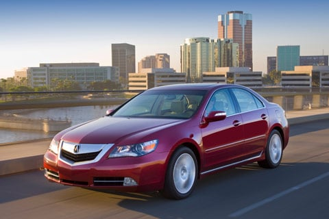Acura News on 2010 Acura Rl The Acura Rl Carries Over For 2010 Without Significant