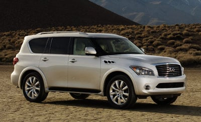 2012 Infiniti QX56 of Dallas-Ft. Worth