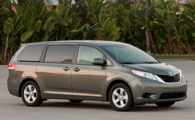 Compare 2012 toyota sienna