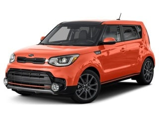 2017 Kia Soul Hatchback Wild Orange