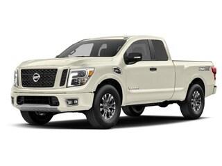 2017 Nissan Titan Truck Pearl White
