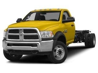 2017 Ram 5500 Chassis Truck Yellow