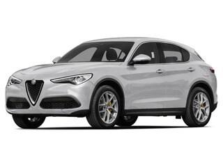 2018 Alfa Romeo Stelvio SUV Trofeo White Tri-Coat