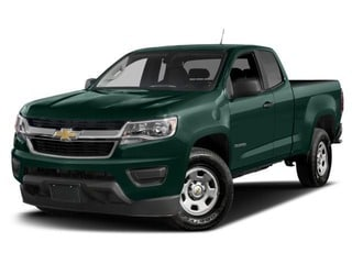 2018 Chevrolet Colorado Truck Woodland Green