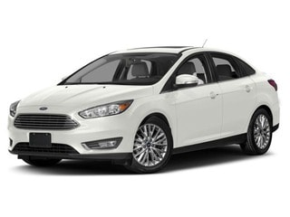 2018 Ford Focus Sedan White Platinum Tri-Coat Metallic