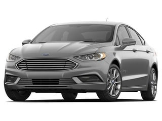 2018 Ford Fusion Hybrid Sedan White Platinum Metallic Tri-Coat