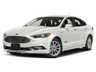 2018 Ford Fusion Energi Sedan White Platinum Metallic Tri-Coat