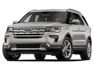2018 Ford Explorer SUV White Platinum Metallic Tri-Coat