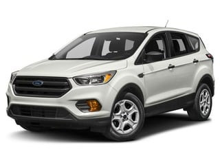 2018 Ford Escape SUV White Platinum Metallic Tri-Coat