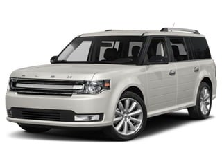 2018 Ford Flex SUV White Platinum Metallic Tri-Coat