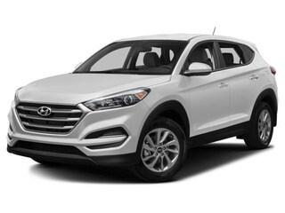 2018 Hyundai Tucson SUV Winter White