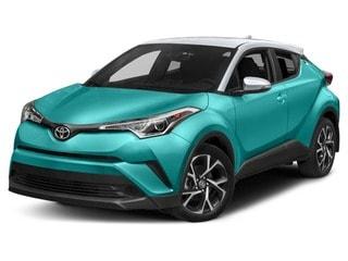 2018 Toyota C-HR VUS Vert radieux mica avec toit blanc