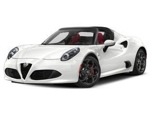2019 Alfa Romeo 4C Spider Convertible White
