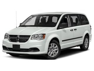 2019 Dodge Grand Caravan Van White